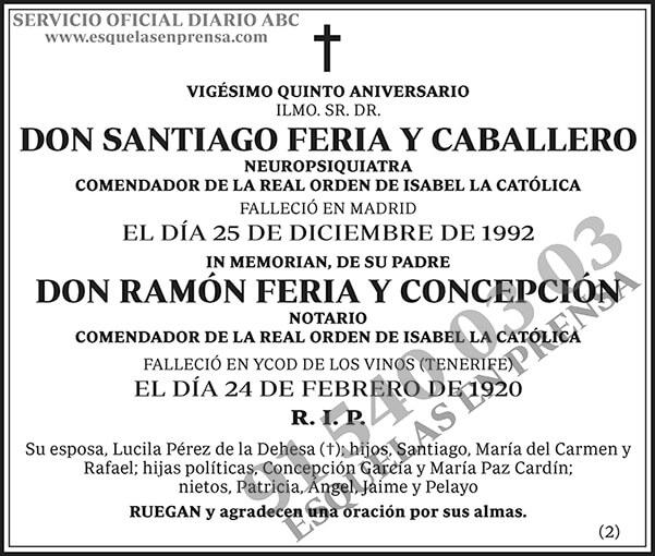 Santiago Feria y Caballero